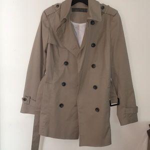 ZARA khaki trench coat